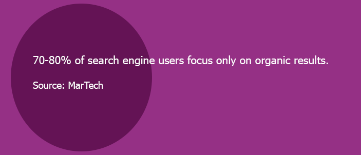 organic search engine traffic