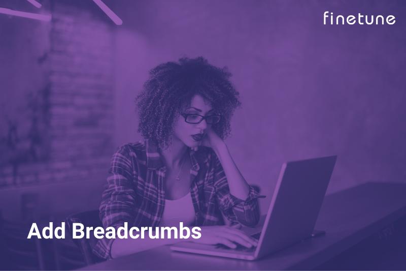 Add Breadcrumbs
