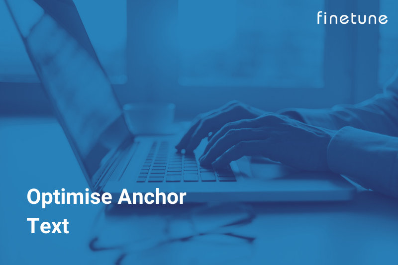 Optimised Anchor Text